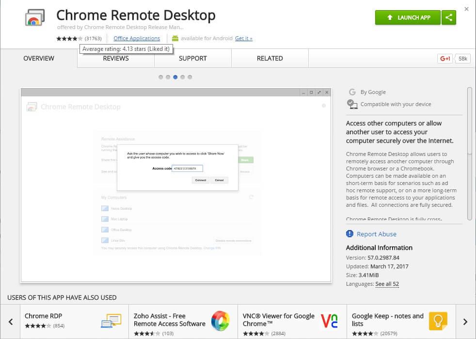 Как получить удаленный доступ к компьютеру с помощью Chrome