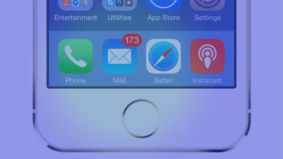 Как за раз удалить сообщения в приложении для электронной почты iPhone