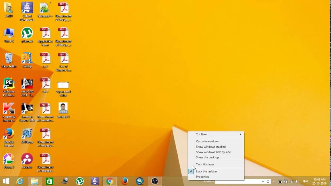 Как добавить поле для URL в панель задач Windows 10