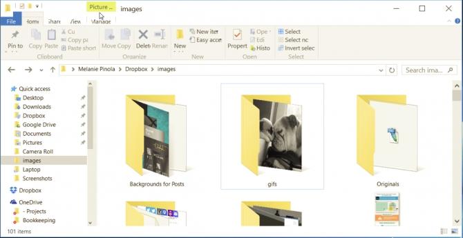 Как изменить размер значков в проводнике файлов