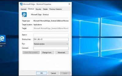 Как установить комбинацию горячих клавиш в Windows 10