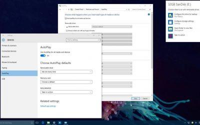Как настроить меню автозапуска в Windows 10