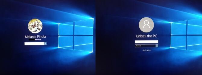 Как скрыть свое имя и адрес электронной почты на экране входа в Windows