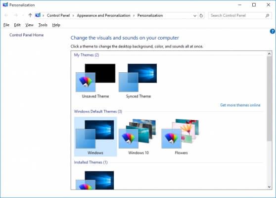Как создать собственную тему для Windows 10