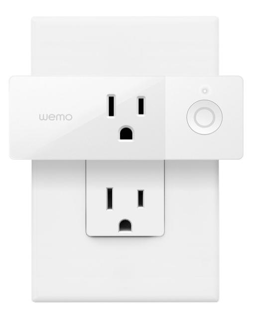Переходник для розетки Wemo Mini-Smart Plug