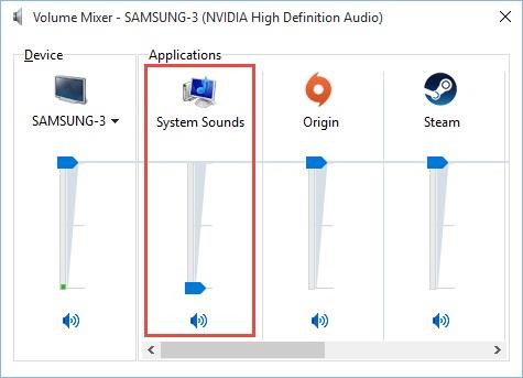 Как отключить уведомление и системные звуки в Windows 10