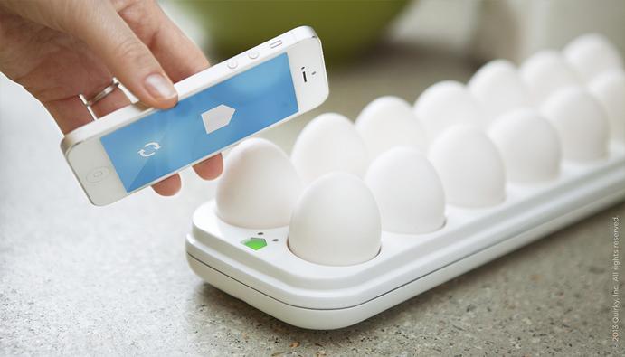 Лоток для яиц с Wi-Fi
