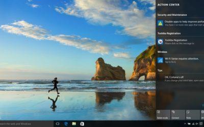 Как отключить уведомления приложений в Windows 10