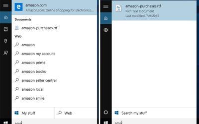 Как отключить веб-результаты в поиске Windows 10