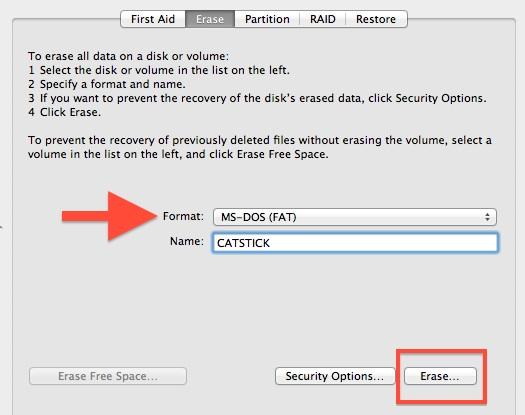 Как форматировать жесткий диск для Windows и Mac
