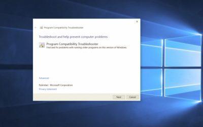 Как установить режим совместимости для приложений в Windows 10