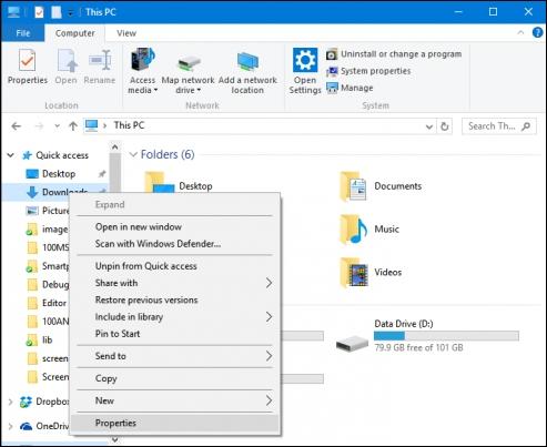 Как исправить медленное открытие папки Загрузки в Windows