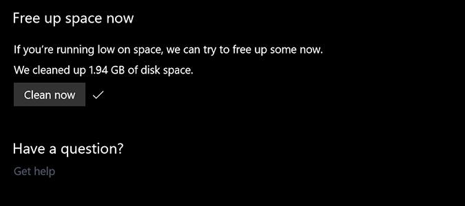 Как освободить пространство на диске автоматически с учетом безопасности Windows 10