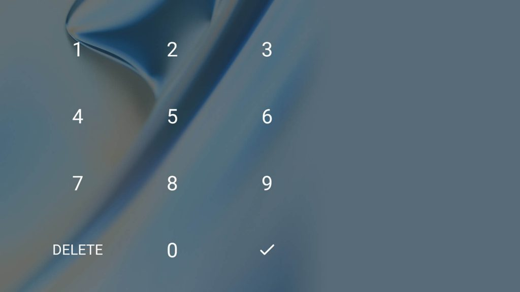 Не используйте легкие сочетания, вроде «1234» в качестве PIN-кода