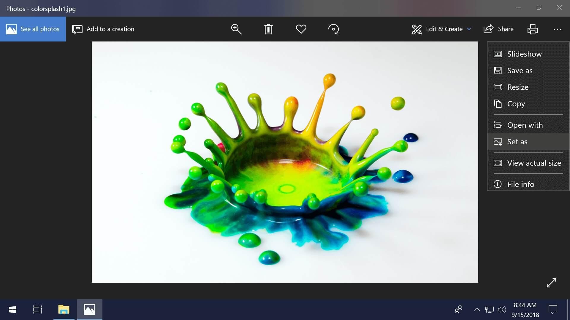 Как поменять обои и другие параметры персонализации на неактивированной Windows 10