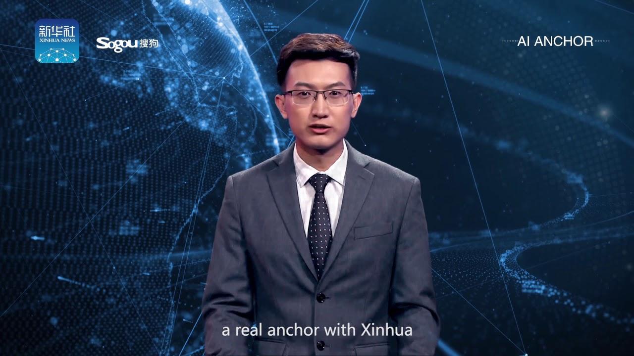 В Китае показали ведущего новостей с искусственным интеллектом