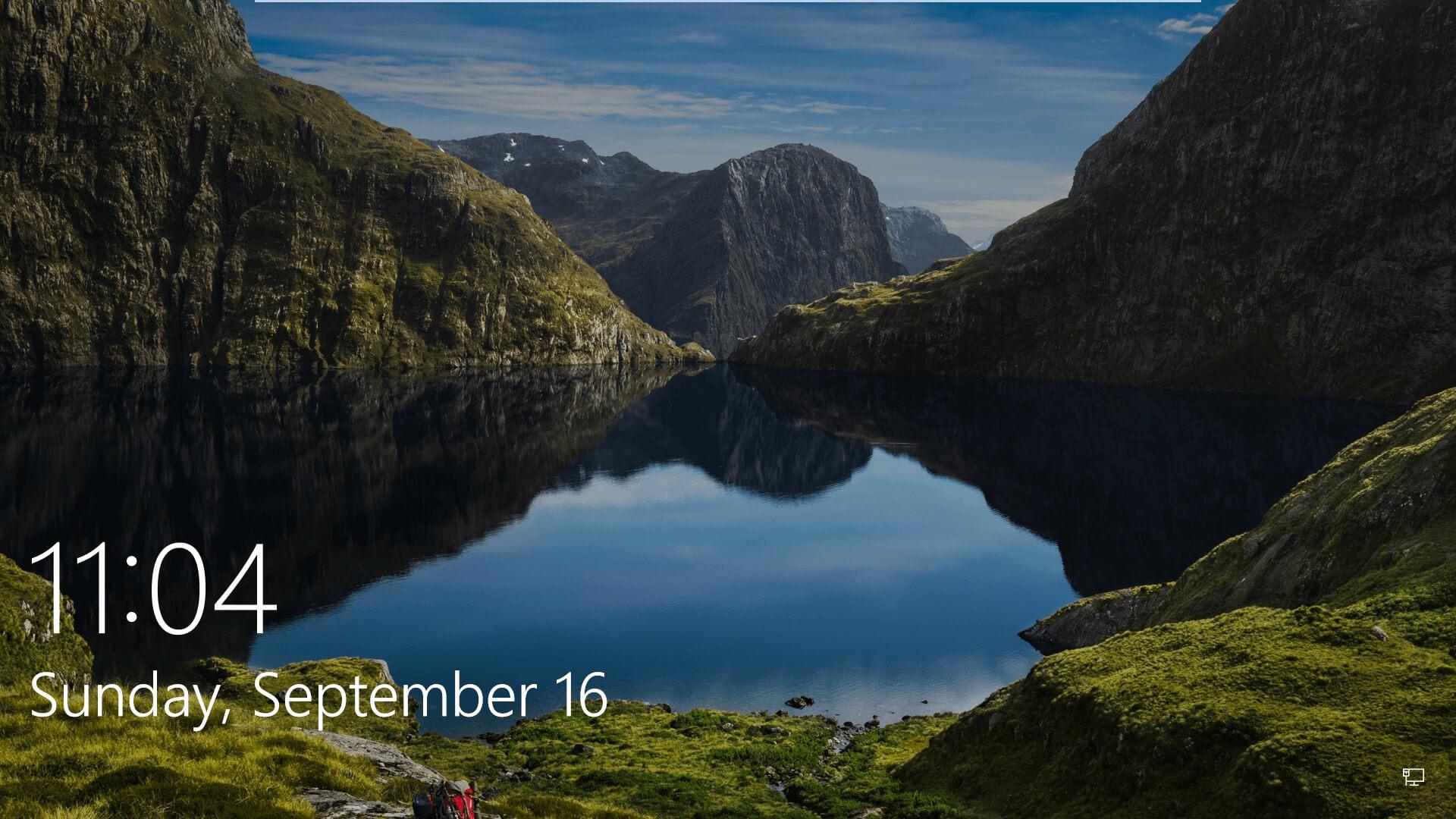 Добавьте обои с экрана блокировки Windows 10 в свою коллекцию