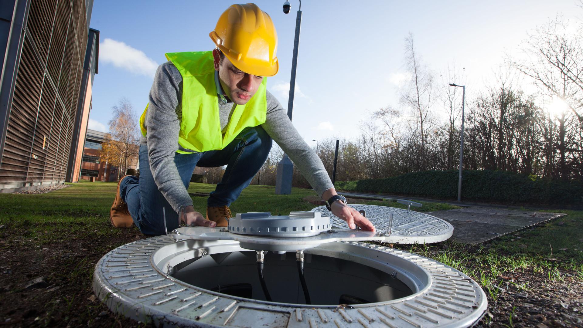 Vodafone будет использовать крышки канализационных люков в качестве антенн для 5G