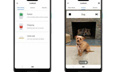 Новое приложение Lookout от Google использует искусственный интеллект для помощи слепым и слабовидящим