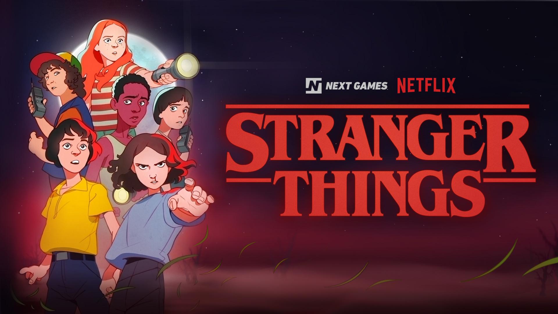 Мобильная RPG по сериалу Stranger Things выйдет в 2020 году,