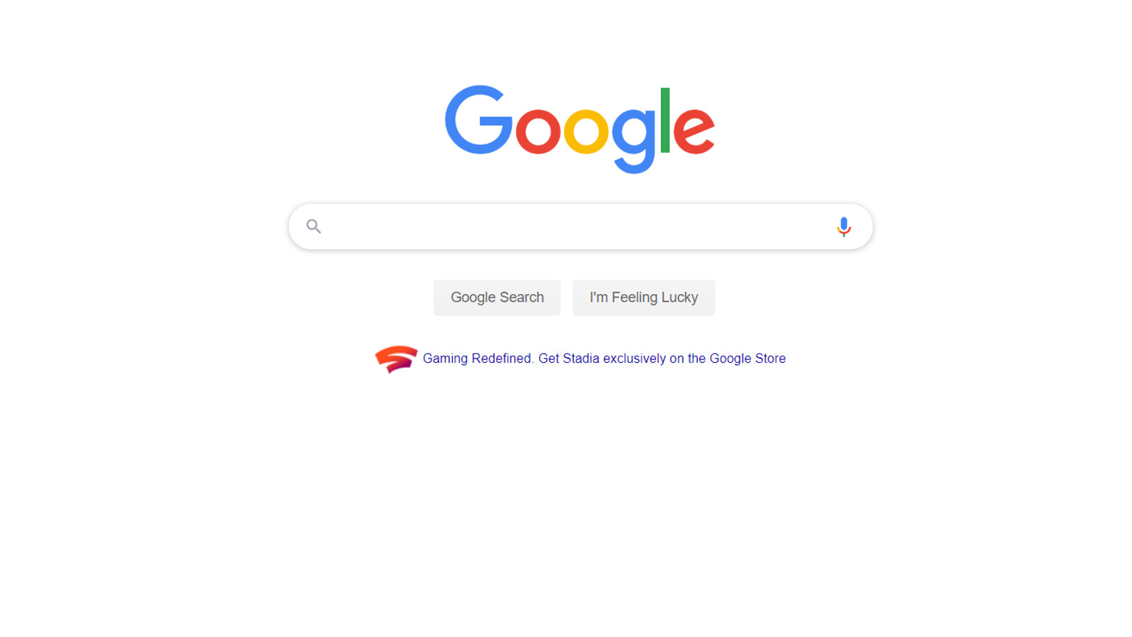 Google продвигают собственный сервис Stadia в своей поисковой системе