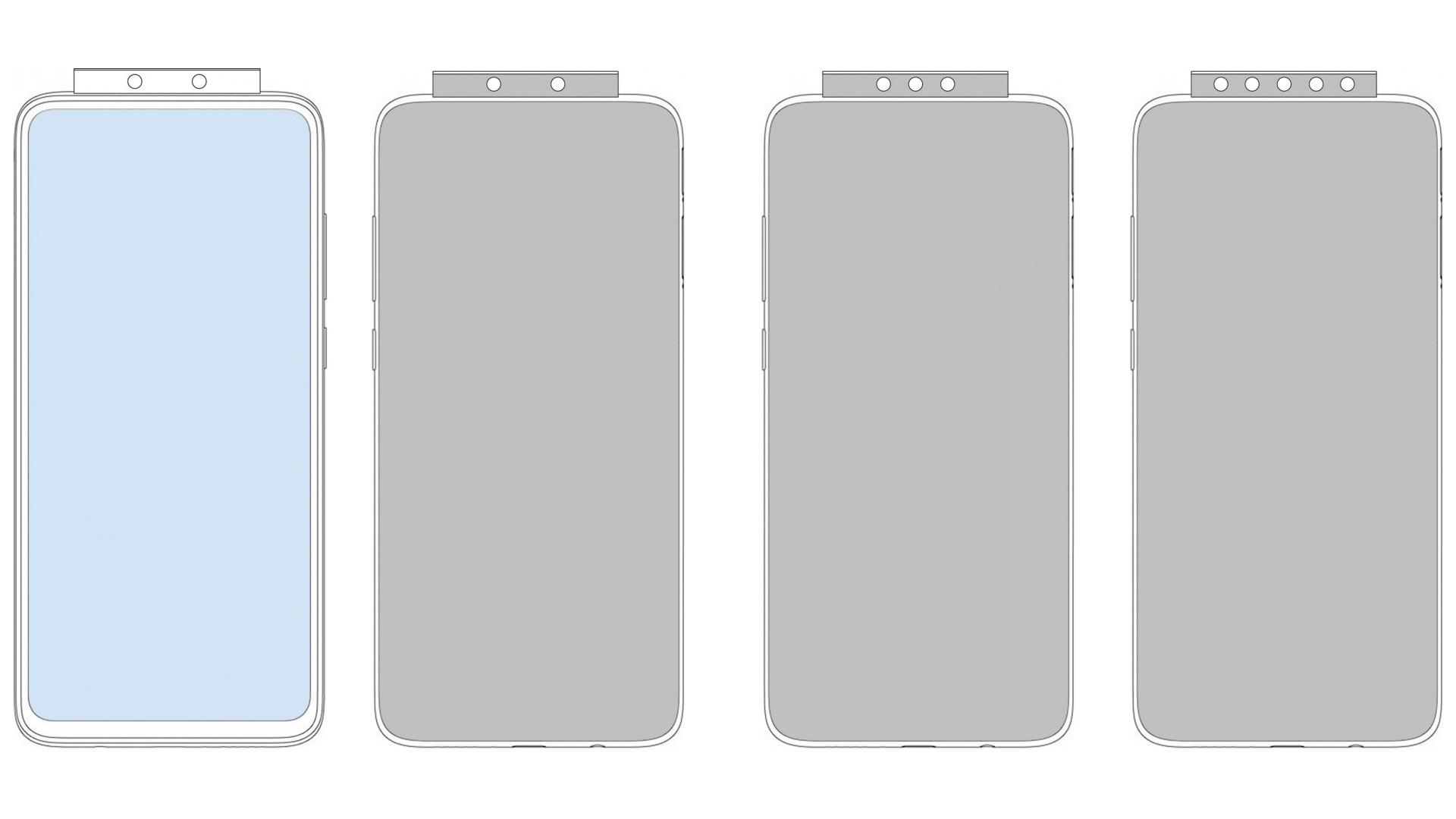 Xiaomi могут выпустить телефон с выезжающей камерой и семью линзами